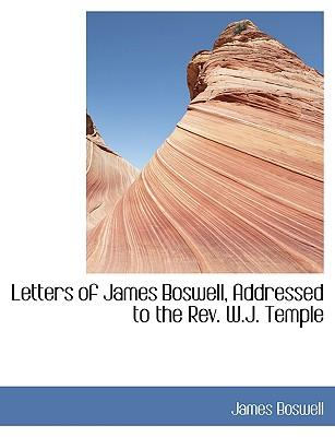 Letters of James Bos...