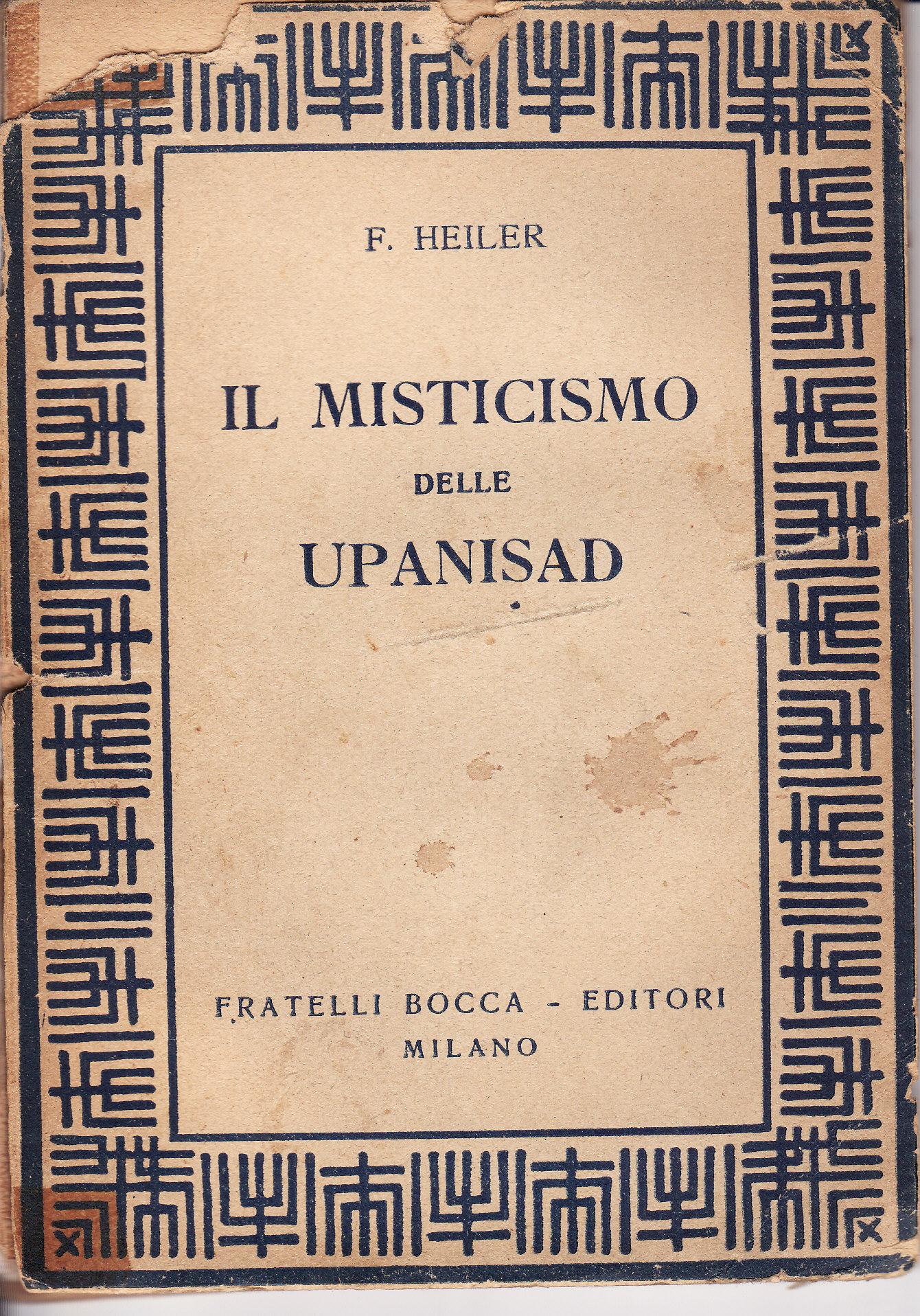 Il misticismo delle Upanisad
