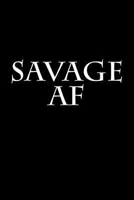 Savage Af Journal