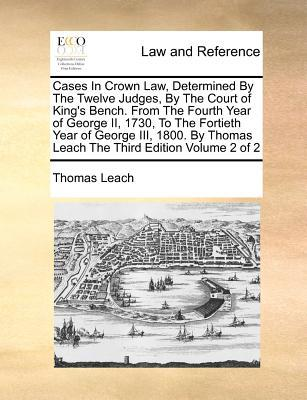Cases in Crown Law, ...