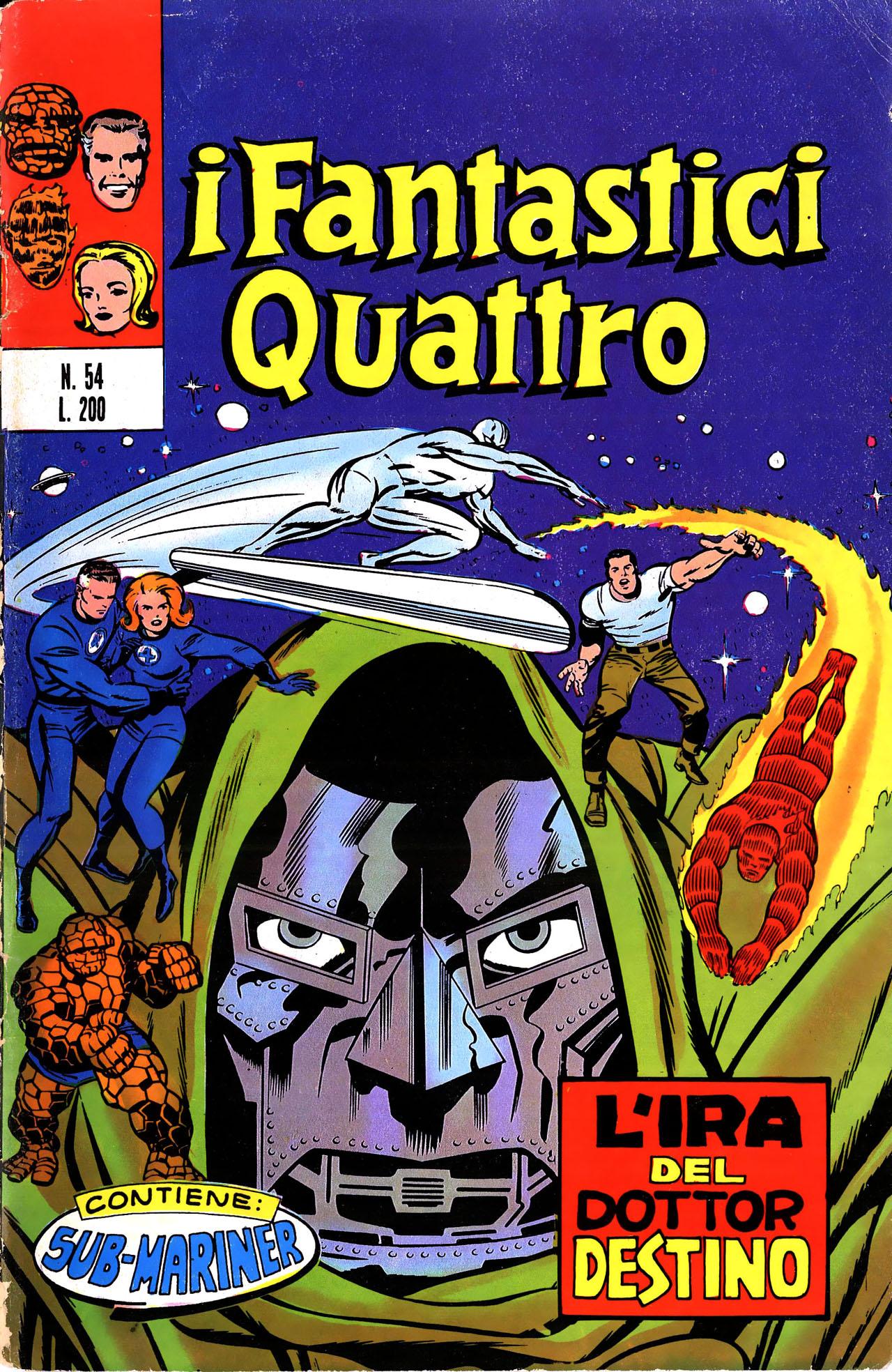 I Fantastici Quattro n. 54