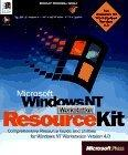 Microsoft  Windows NT  Workstation 4.0 Resource Kit