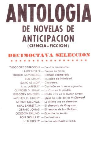 Antología de novela...