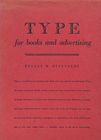 Type for Books and Advertising