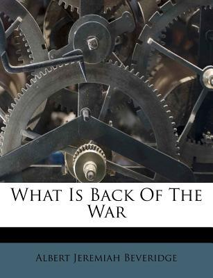 What Is Back of the ...
