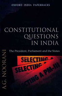 Constitutional Questions in India