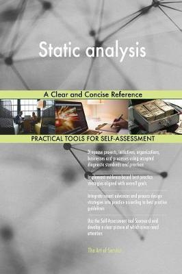 Static Analysis a Clear and Concise Reference