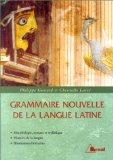 Grammaire nouvelle de la langue latine
