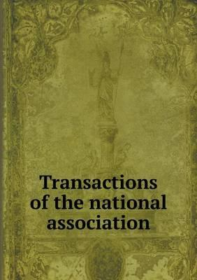 Transactions of the National Association