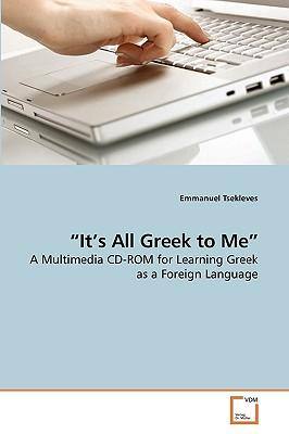 """It's All Greek to Me"""