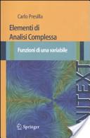 Elementi di analisi complessa. Funzioni di una variabile