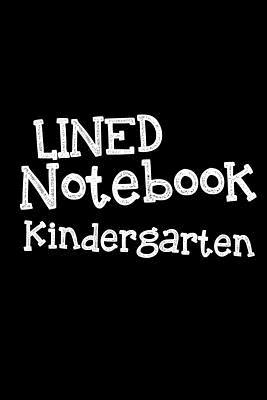 Lined Notebook Kindergarten