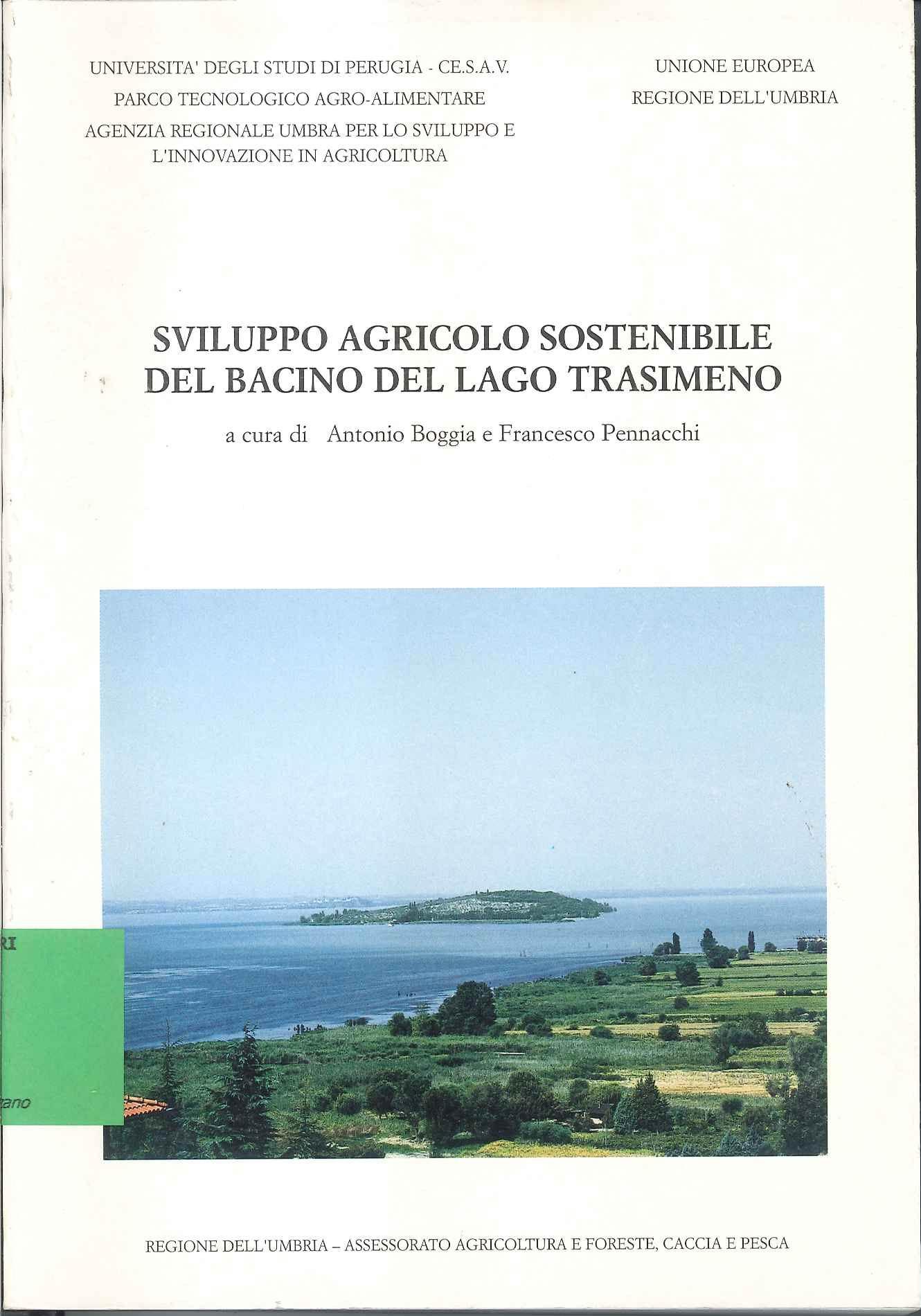 Sviluppo agricolo sostenibile del bacino del Lago Trasimeno