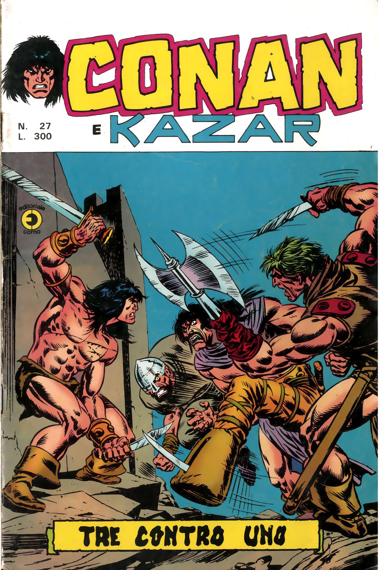 Conan e Ka-zar n. 27