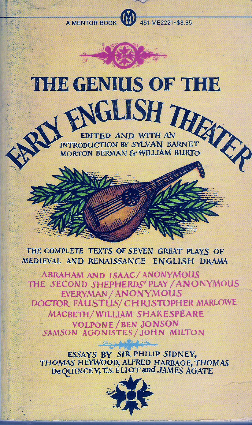The Genius of the Early English Theater