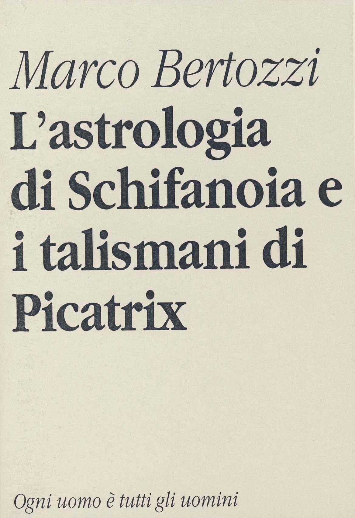 L'astrologia di Schi...