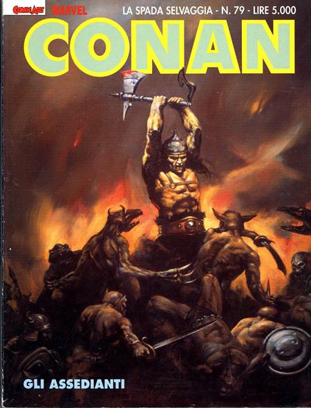 Conan la spada selvaggia n. 79