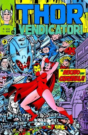 Thor e i Vendicatori (Il Mitico Thor) n. 232
