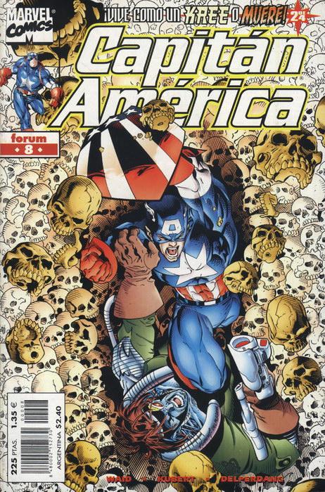 Capitán América Vol.4 #8 (de 27)