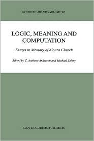 Logic, meaning, and computation