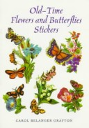 Old-Time Flowers and Butterflies Stickers