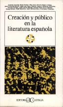 Creación y público en la literatura española