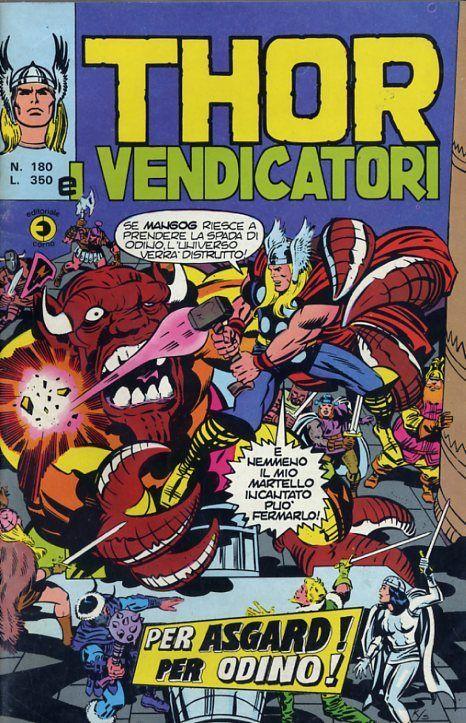 Thor e i Vendicatori (Il Mitico Thor) n. 180