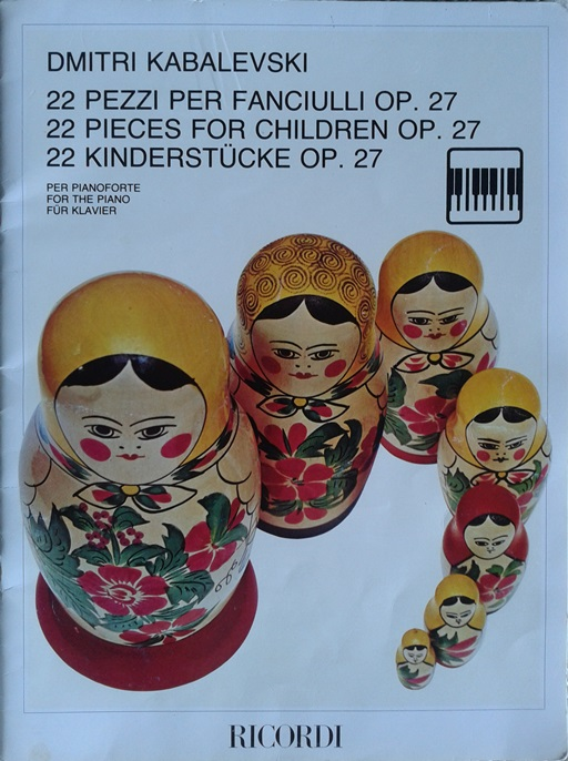 22 pezzi per fanciulli