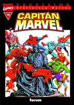 Biblioteca Marvel: Capitán Marvel #10