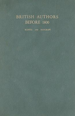 British Authors Before Eighteen Hundred