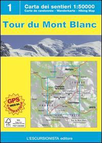 Tour du Mont Balnc. Con carta escursionistica 1