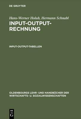 Input-output-rechnung