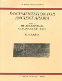 Documentation for Ancient Arabia, Part II