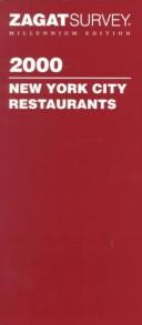 Zagatsurvey 2000 New York City Restaurants