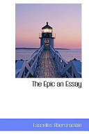 The Epic an Essay