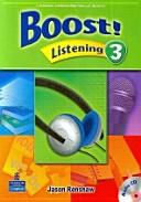 Boost! Listening 3 S/B w/CD