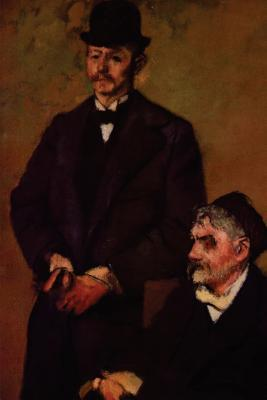 Henri Rouart and His Son Alexis by Edgar Degas Journal