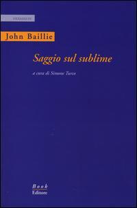 Saggio sul sublime. Ediz. italiana e inglese