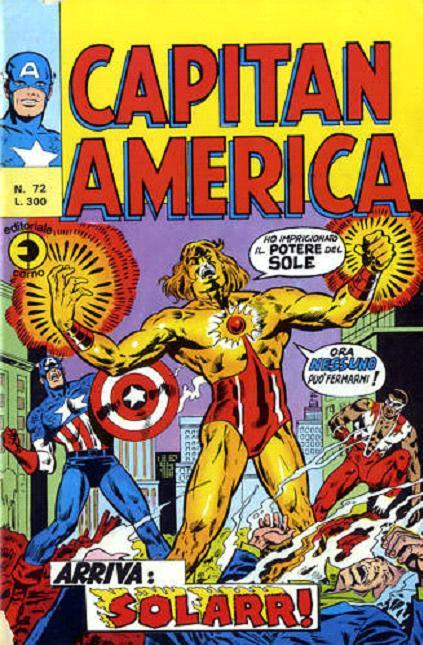 Capitan America n. 72