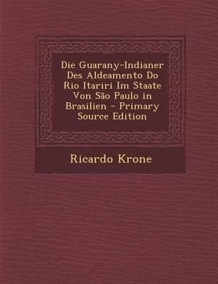 Die Guarany-Indianer Des Aldeamento Do Rio Itariri Im Staate Von Sao Paulo in Brasilien