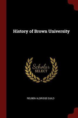 History of Brown University