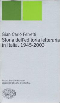 Storia dell'editoria letteraria in Italia
