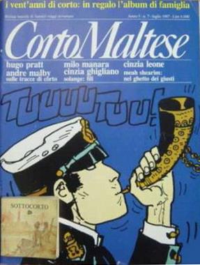Corto Maltese, Anno V, n. 7 (luglio 1987)