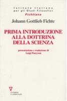 Prima introduzione alla dottrina della scienza
