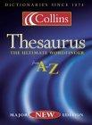 Collins Thesaurus A-Z