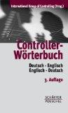 Controller-wörterbuch. Deutsch- Englisch/ Englisch- deutsch