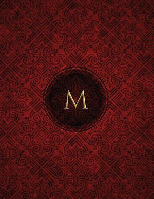 Monogram M Blank Ske...
