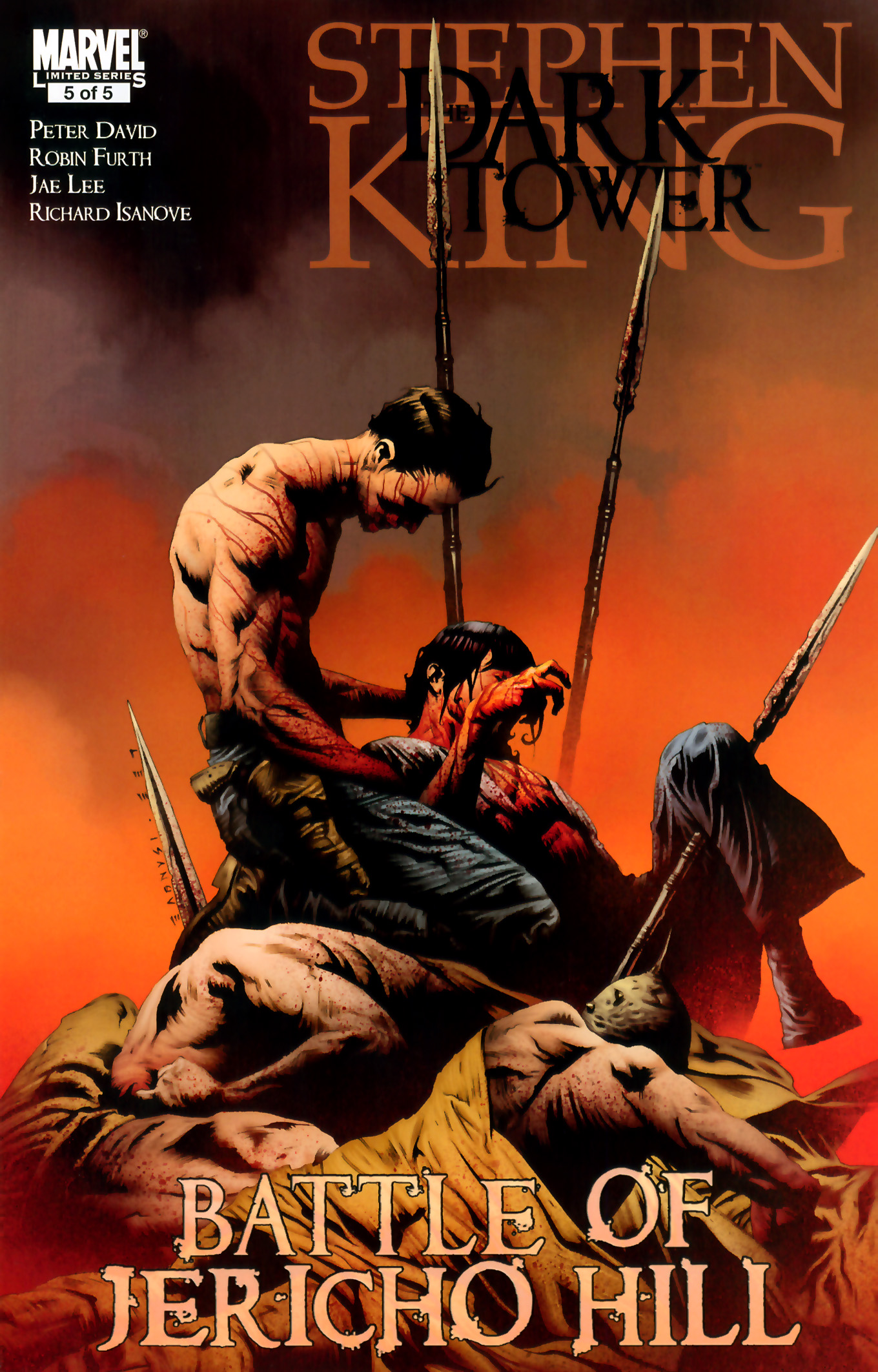 The Dark Tower: The Battle of Jericho Hill n.5