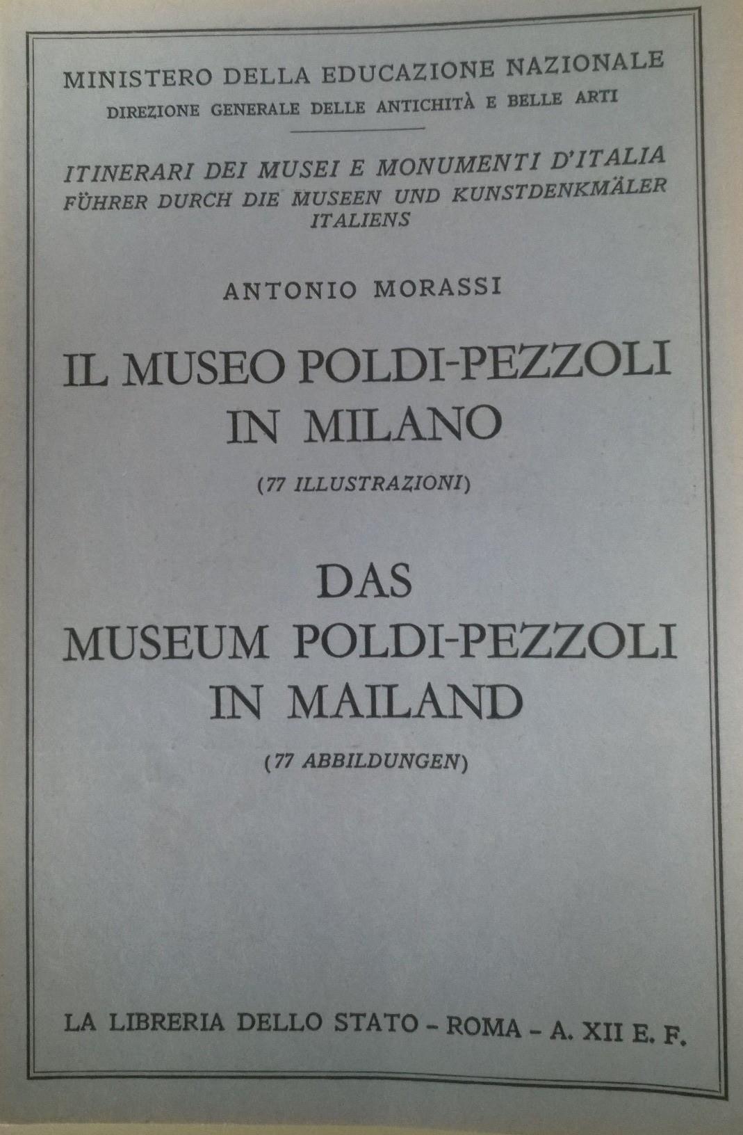 Il Museo Poldi-Pezzoli in Milano