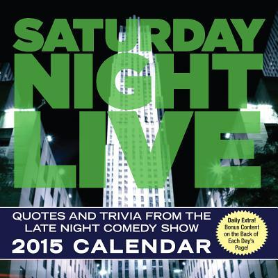 Saturday Night Live 2015 Calendar